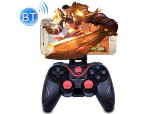 C8 Bluetooth Mobile Gaming Console Gaming Controller Grip Game Pad  For Android / iOS / PC / PS3