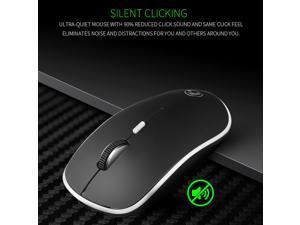 Apedra iMICE G-1600 4-Keys 1600 DPI Mini USB Charging 2.4G Wireless Silent Mouse