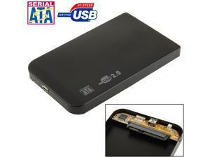 2.5 inch SATA HDD External Case, Size: 126mm x 75mm x 13mm
