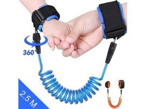 Safety Anti-lost Strap Toddler Kid Baby Link Harness Child Wrist Band Belt 1.5M