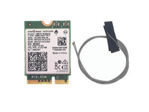 Intel Wi-Fi 6 AX201 Bluetooth 5.0 Dual Band 2.4G/5G Wireless NGFF CNVi Wifi Card AX201NGW 2.4Ghz / 5Ghz 802.11ac/ax