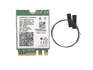 Wireless for Intel AX200 AX200NGW 1730Mbps NGFF M.2 Bluetooth 5.0 Dual Band Wifi Network Card 802.11ac/ax Better than Intel 9260