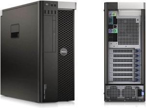 Dell Precision T3610 Workstation Desktop PC Intel Xeon 3.50GHZ 16GB Memory - 2x 128GB SSD - Windows 10
