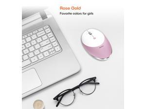 Rechargeable Wireless Mouse Silence MT-R600 | for Windows and Mac | Portable Multicolor Design