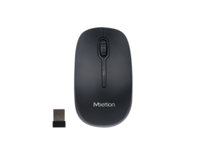 MEETiON 2.4G Wireless Optical Mouse, Soft Touch, Energy Saving, DPI Resolution Switch