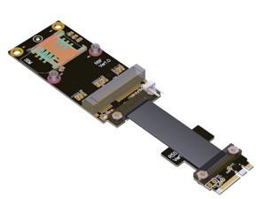 mPCIe mini PCIe Card to M.2 NGFF Adapter-15CM