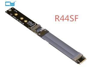 Riser M.2 NVMe SSD Solid State Drive Extension Cable M2 supports PCI-E 3.0 x4 Full Speed 10CM