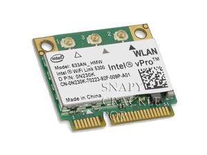 Dell Precision Dual Band Wireless WIFI Link N Card M2400 M4400 M6400 M6500 Mini