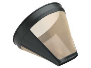 KRUPS F05342 Gold Tone Permanent Filter Black