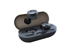 Letscom Wireless Earbuds Bluetooth Headphones HD Stereo Sound True Wireless in-Ear Earphones with Mic and Charging Case