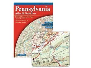 Delorme 240038 Pennsylvania Atlas and Gazetteer