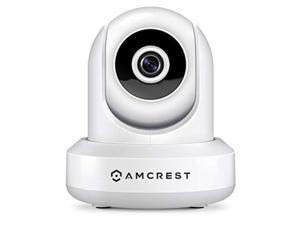 Amcrest 1080P WiFi Security Camera 2MP Indoor Pan/Tilt Wireless IP Camera IP2M-841W (White)