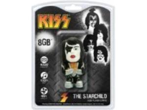 kiss starchild 8gb usb 2.0 flash drive, multicolored, one size