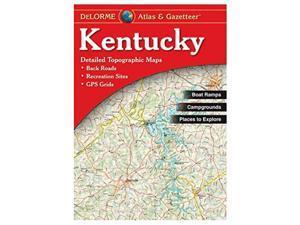 Delorme Kentucky Atlas