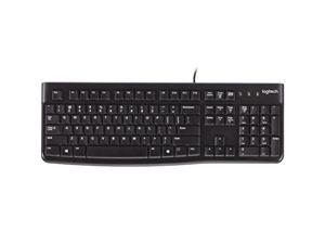 Logitech K120 Ergonomic Desktop USB Wired Keyboard