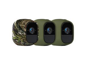 Arlo Accessory - Skins | Set of 3 - Green Green Camouflage |Compatible with Arlo Pro only| (VMA4200)