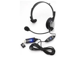 Monaural Voice Recognition USB Headset with Noise Cancelling boom Microphone for Dragon NaturallySpeaking 13 Dragon 13 Home Premium  Professional & Dragon Dictate for Mac