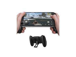 GameSir F1 Grip Game Controller Mobile Joystick Gamepad Ergonomic Design Handle Holder Handgrip Stand for PUBG Fortnite Red Dead Redemption Support 55-65 Smartphone (Black)