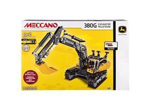 Meccano Erector – John Deere 380G Excavator with Working Hydraulics