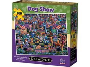 dowdle jigsaw puzzle  dog show  100 piece