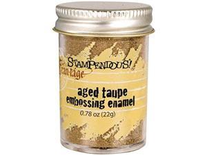 Stampendous Aged Embossing Enamel .60oz-Taupe