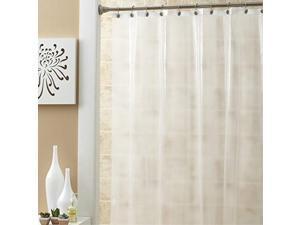 Ex-cell Medium Weight PEVA Shower curtain Liner, Frosty