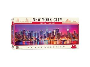 New York City Cityscapes Panoramic 1000 Piece Puzzle