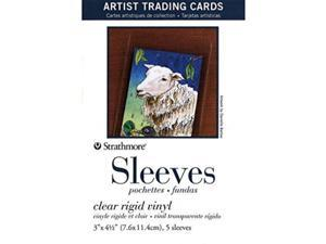 Strathmore Artist Trading Cards 2 1/2 in. x 3 1/2 in. Sleeves Pack 5