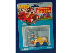 Disneys Collectible Die Cast Vehicles Minnie Mouse and Donald Duck