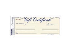 Rediform Rediform Gift Certificates w/Envelopes (RED98002)