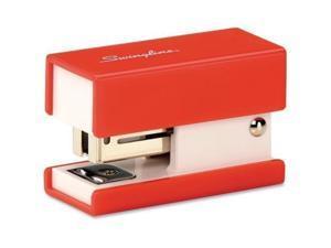 87873 Swingline Mini Fashion Stapler - 12 Sheets capacity - 50 Staples capacity - 1/4quot; Staple Size - Red