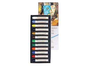 Sennelier Oil Pastel Intro Set Of 12Assorted Colorsstandard
