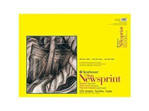 "Strathmore (307-418 STR-307-418 120 Sheet Rough Newsprint 18 by 24"" 99"