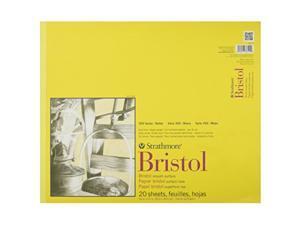 "Strathmore 300 Series Bristol Smooth Pad 14""x17"" Tape Bound 20 Sheets"