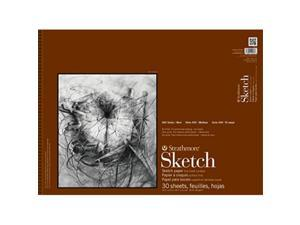 """Strathmore STR-455-18 455-18 400 Series Sketch Pad 18""""x24"""" Wire Bound 30 Sheets 18/24"""" Multicolor"""
