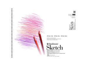 "Strathmore (25-511 200 Series Sketch Pad, 11""x14"", 100 Sheets"