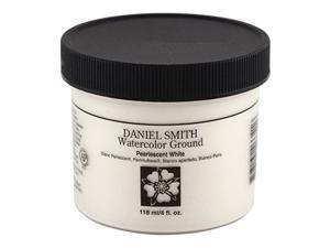 DANIEL SMITH 284055013 Watercolor gound, 4oz, Pearlescent White