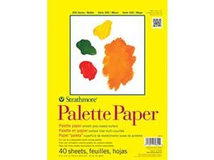 """Strathmore 365-9 300 Series Palette Pad 9""""x12"""" Tape Bound 40 Sheets"""
