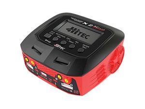 Hitec RcD Inc. X2 Ac Plus Black Edition Multi-Function Ac/Dc charger, HRc44270