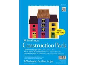 Strathmore 100 Series Youth Construction Paper Pack Bulk Pack 200 Sheets