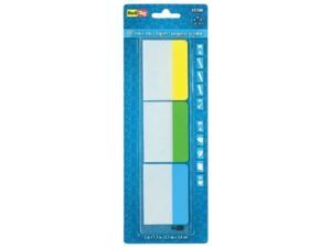Redi-Tag Writeable, Removable Index Tabs, 2-Inch, 30-Pack, Lemon, Lime and Ocean Blue colors (31080)