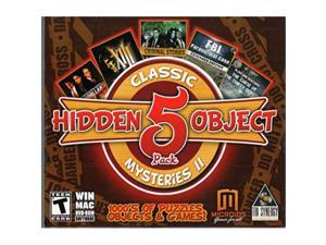 Hidden Object 5 Pack cLASSIc MYSTERIES II: criminal Stories: Presumed Partners  XIII: Lost Identity  Blake & Mortimer  cIA: P