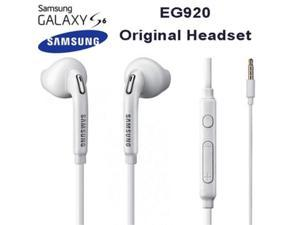 samsung eoeg920bw 3.5 mm jack in ear handsfree stereo headphones with remote and microphone  white
