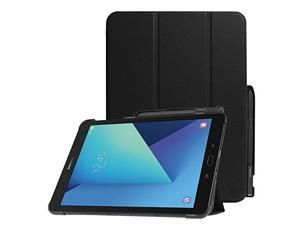 Fintie Slim Shell Case for Samsung Galaxy Tab S3 97 Super Slim Lightweight Stand Case with S Pen Protective Holder Auto Sleep/Wake for Tab S3 97-Inch Tablet (SM-T820/T825/T827) 2017 Release Black
