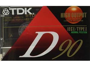 TDK Standard Audio Cassette