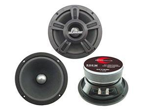 Lanzar - Opti Pro 500 Watts 6.5'' High Power Midbass Speaker
