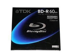 BD-R 60 MIN for BD Video Camera