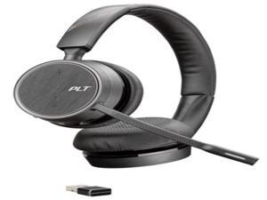 Plantronics Voyager 4220 UC mobile headset Binaural Head-band Black Wireless