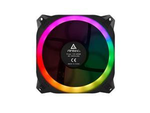 Antec Prizm 120 ARGB 3+2+C, 3x RGB Dual Ring PWM Fan, 2 x LED Strip, and 1x Fan Control Box