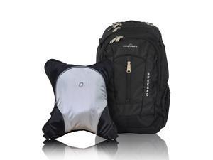 Obersee BERN Diaper Bag Backpack   Detachable Baby Bottle Cooler   Waterproof Padded Large Diaper Changing Pad